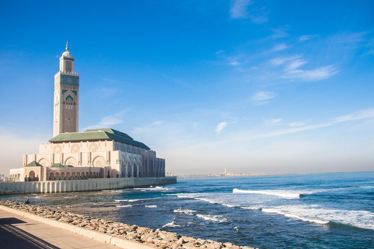 the hassan ii mosque, mosque, casablanca